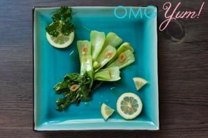 Seaame Garlic Bok Choy