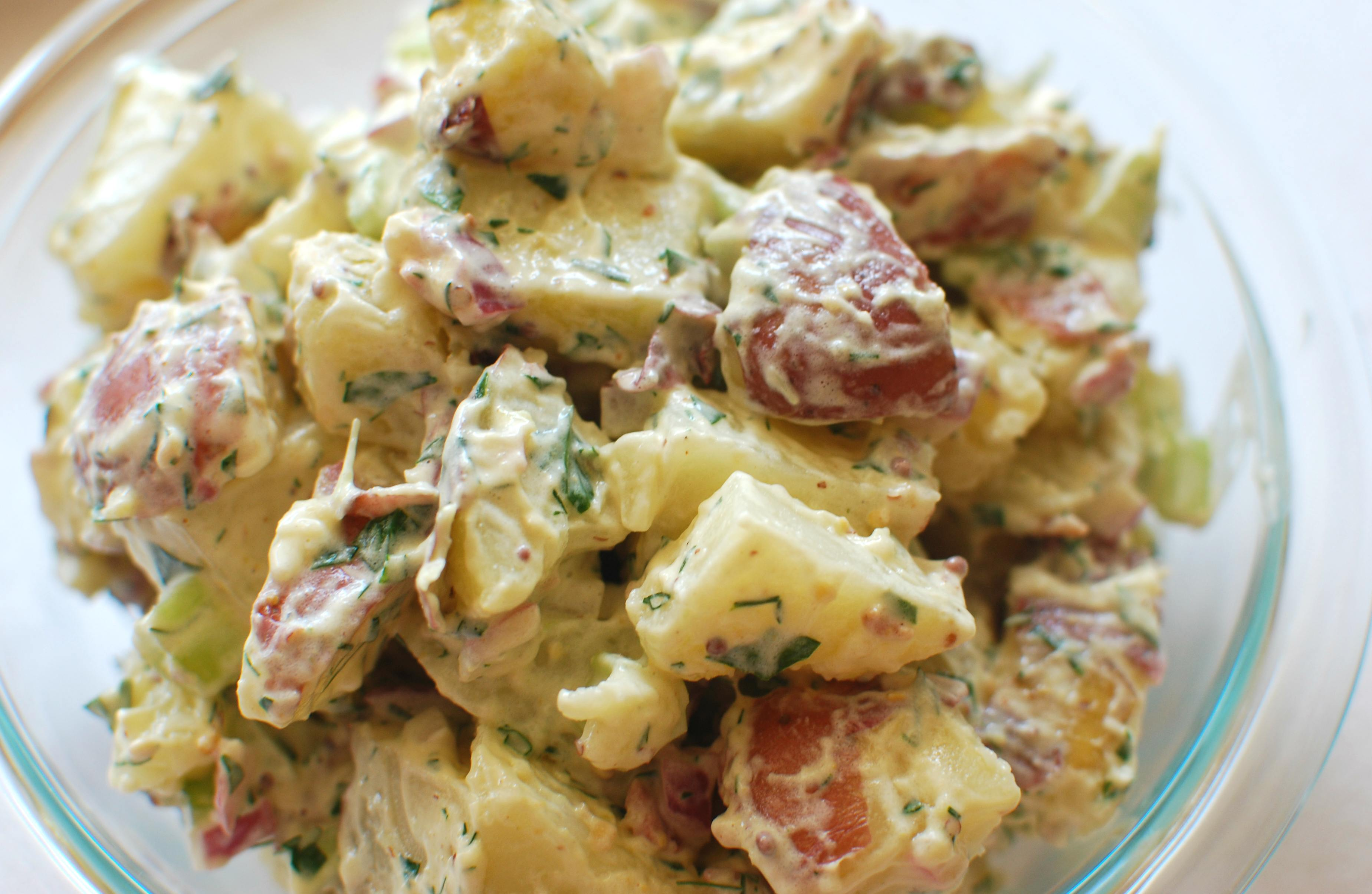Potato Salad Recipe With Bacon And Dill