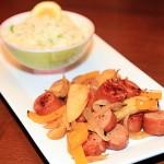 Apple Chicken Sausage Salad