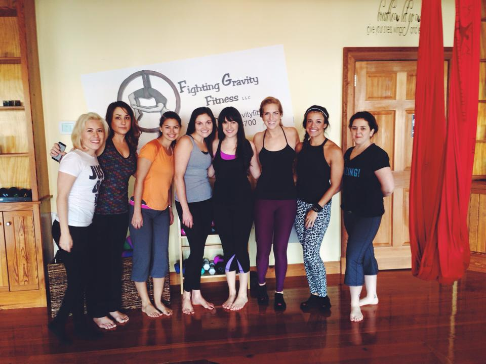bloggers at fighting gravity fitness