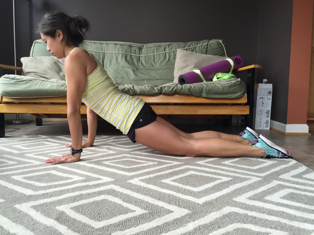 Incorrect modified plank