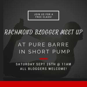 Virginia Bloggers Meet Up at Pure Barre