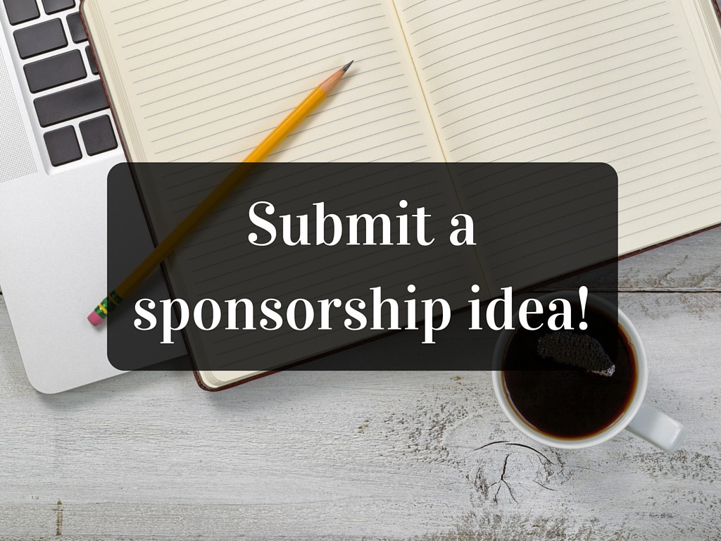 Submit a sponsorship idea