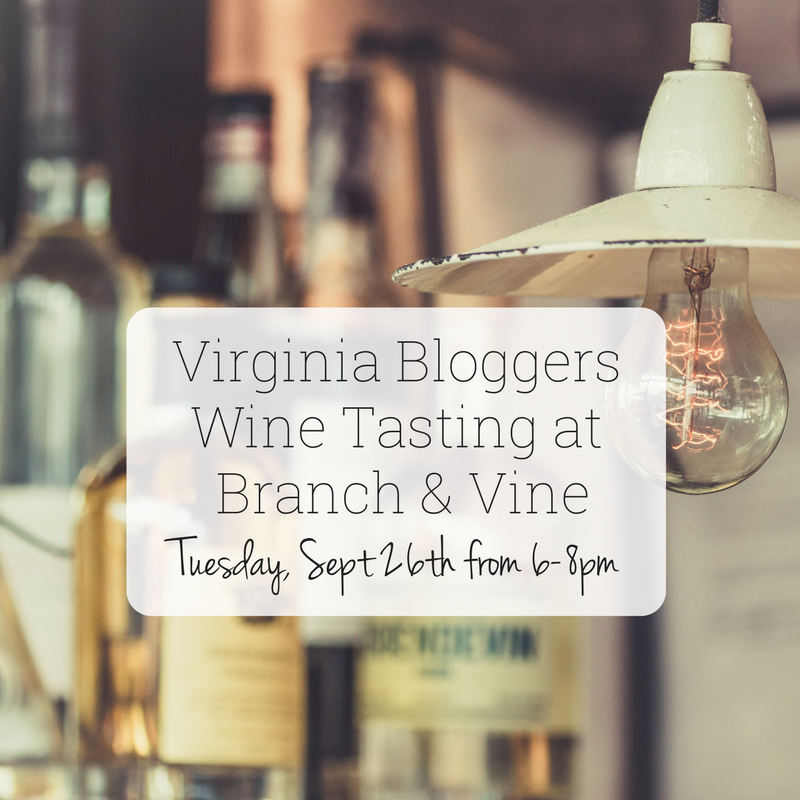 Blogger Wine Tasting@ Branch and Vine